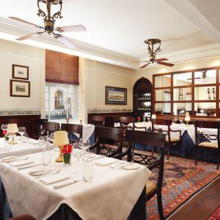 A photo of Blue Door Bistro restaurant