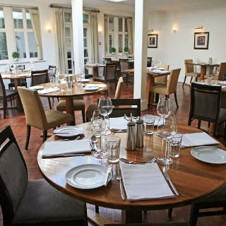A photo of The George Brasserie restaurant
