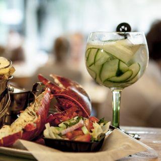 A photo of Mossel en Gin restaurant