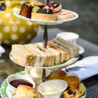 A photo of Afternoon Tea at The Oakley Court restaurant