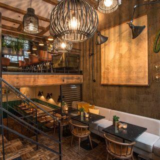 A photo of Restaurant Bleu restaurant