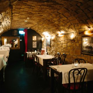 A photo of The Blind Pig restaurant