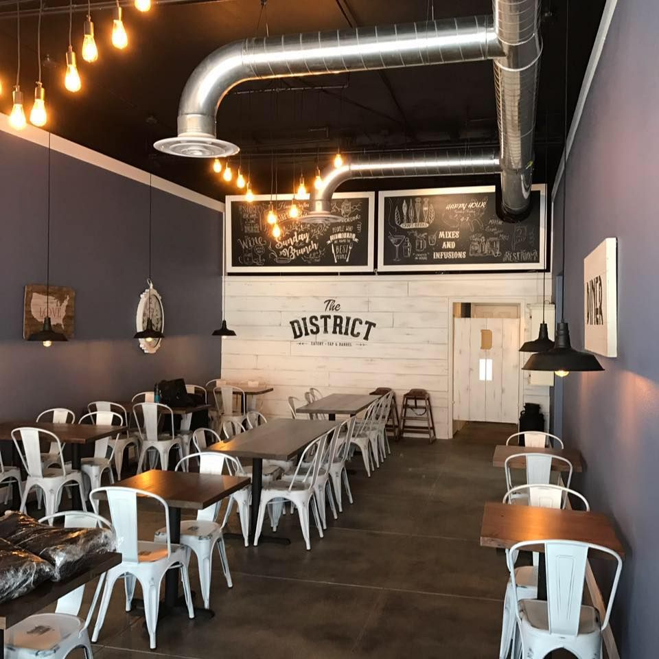 The District Eatery Tap Barrel