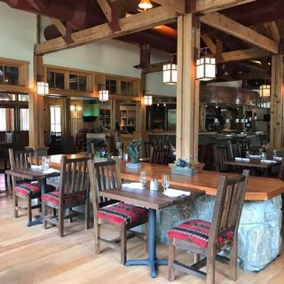 A photo of Kingfisher Restaurant & Wine Bar at Sleeping Lady restaurant