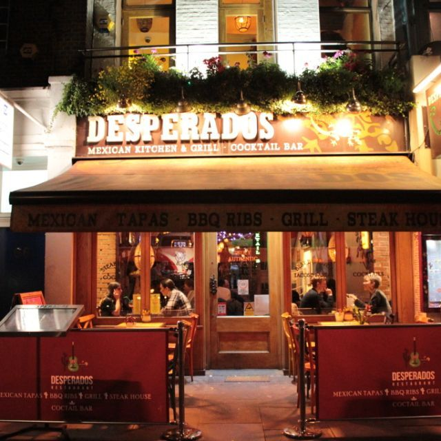 Desperados Angel Restaurant London Opentable
