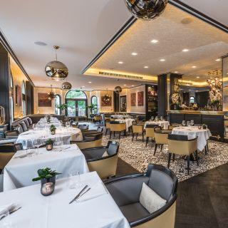 A photo of Brunello Restaurant at the Baglioni Hotel restaurant