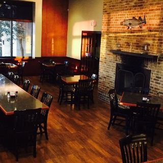 A photo of Flames Seafood Grill & Bar - Weatherford restaurant