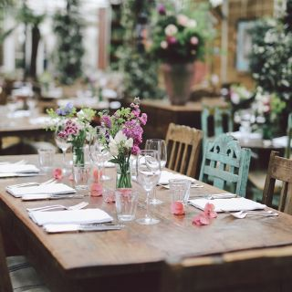 A photo of Petersham Nurseries Cafe restaurant