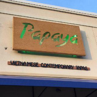 A photo of Papaya Vietnamese Contemporary Tapas restaurant