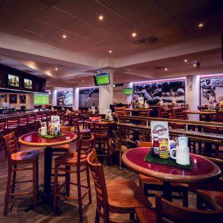 Una foto del restaurante Champions Sports Bar im München Marriott Hotel