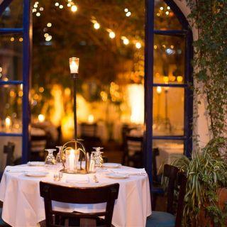 A photo of The Little Door restaurant