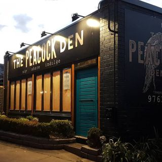 A photo of The Peacock Den restaurant