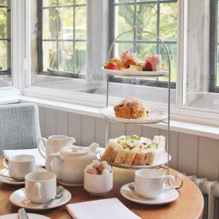 A photo of Afternoon Tea at The Mallyan Spout Hotel - Goathland restaurant