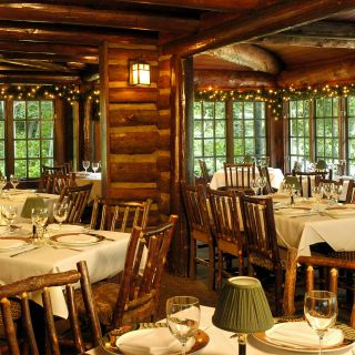 A photo of Log Haven restaurant