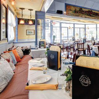 A photo of Coles 735 Main restaurant