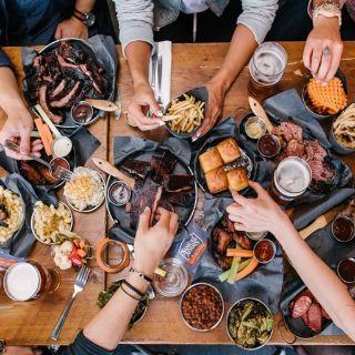 A photo of Smoque N Bones restaurant