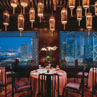 A photo of Man Wah - Mandarin Oriental Hong Kong restaurant