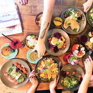 A photo of Hills Organics restaurant