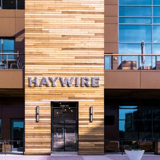 A photo of Haywire restaurant