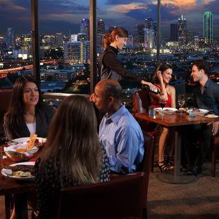 A photo of SER Steak+Spirits restaurant