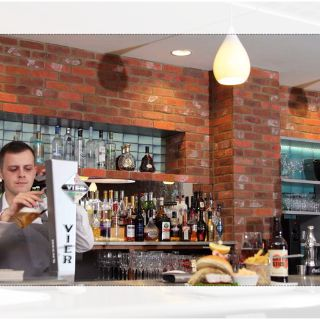 A photo of The Brasserie at Wivenhoe House Hotel restaurant