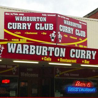 A photo of Warburton Curry Club restaurant