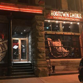 A photo of Hogtown Smoke on Colborne St. restaurant