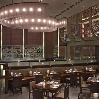 A photo of Aureole restaurant