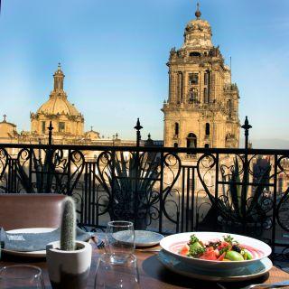 Una foto del restaurante El Balcon del Zocalo