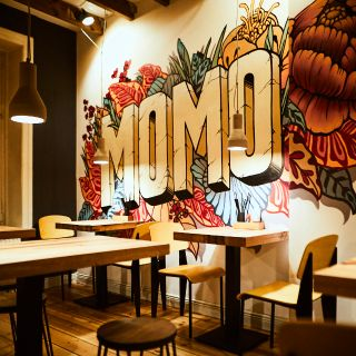 A photo of MOMO Ramen restaurant