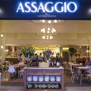 A photo of Assaggio restaurant