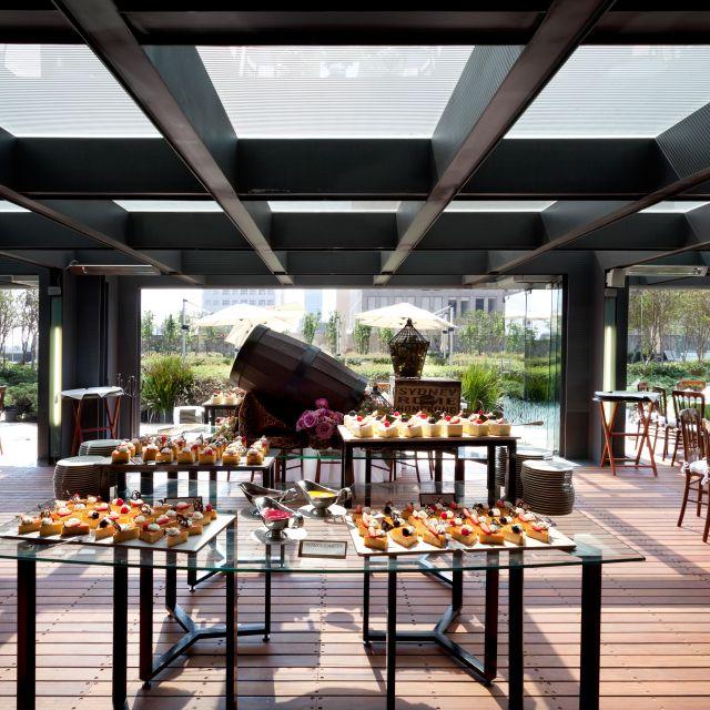 Terraza Alameda Hilton Mexico City Reforma Restaurant