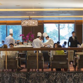 A photo of Clipper Lounge - Mandarin Oriental Hong Kong restaurant