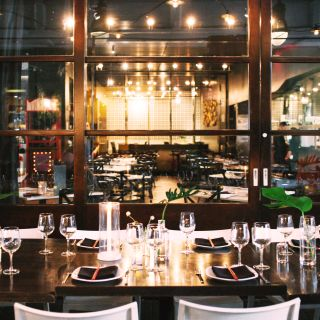 A photo of Straits Restaurant - Santana Row restaurant