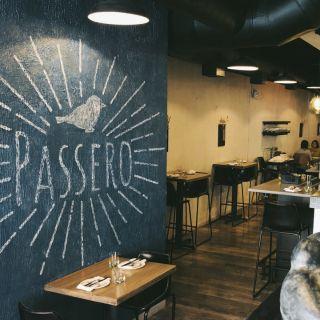 A photo of Passero restaurant