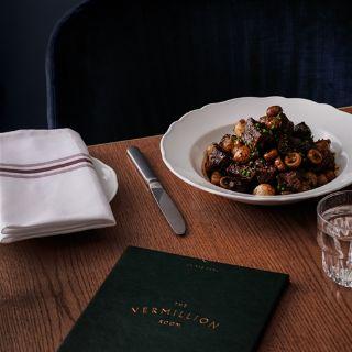 A photo of The Vermillion Room restaurant