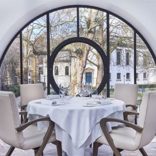 A photo of Orrery restaurant