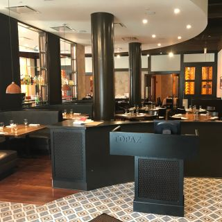 A photo of Topaz restaurant
