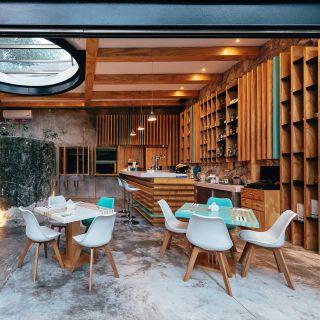 Una foto del restaurante Azul Madera