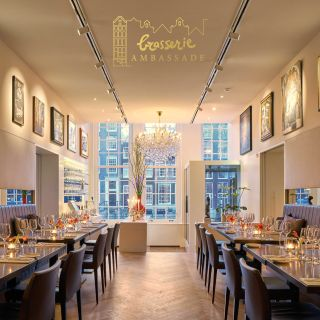A photo of Brasserie Ambassade restaurant