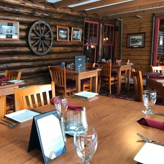 A photo of Log House Restaurant and Pub at Garnet Hill Lodge restaurant