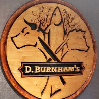 A photo of D. Burnham's restaurant