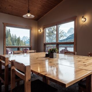 A photo of Mount Engadine Lodge restaurant