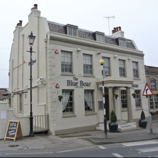 A photo of The Blue Boar restaurant
