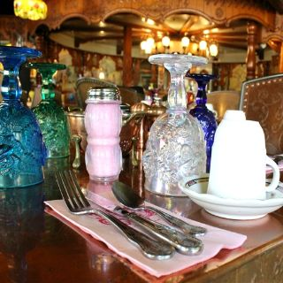 A photo of Copper Café and Bakery, at Madonna Inn restaurant