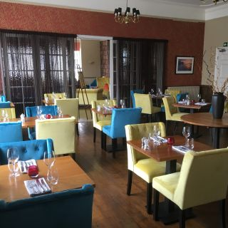 A photo of Dining room at Virginia Court Hotel restaurant