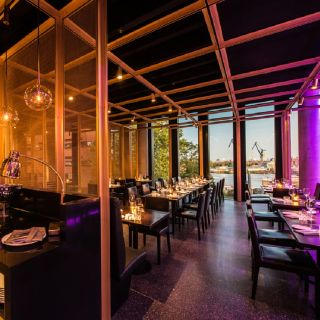 A photo of Restaurant Waterkant im Empire Riverside Hotel restaurant