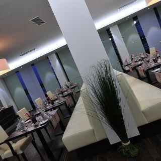 A photo of Hotel und Restaurant Rheingarten restaurant