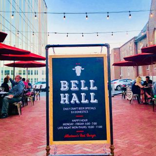 A photo of Bell Hall restaurant