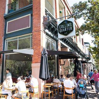 A photo of Collins Quarter restaurant